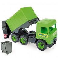 Masina de gunoi verde Wader 42 cm