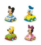 Masinuta moale 4 variante Disney Baby Mickey si Minnie Mouse