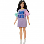 Papusa Barbie in rochie Unicorn Believer Barbie Fashionistas