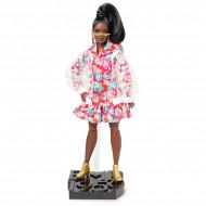 Papusa Retro Barbie cu pelerina de ploaie BMR1959
