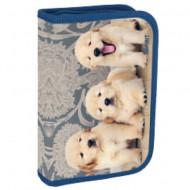 Penar 3D echipat cu parti pliabile Puppies Spirit 50 piese