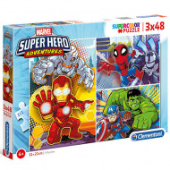 Puzzle Avengers Clementoni 3x48 piese