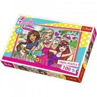Puzzle Barbie Fab Friends 100 piese