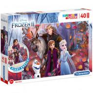 Puzzle de podea Frozen 2 40 piese
