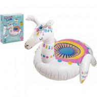 Saltea gonflabila Llama Love Flair Toys