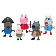 Set 5 figurine Fancy Dress Purcelusa Peppa