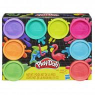 Set 8 cutii plastilina NEON Play Doh