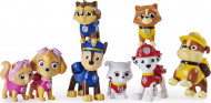 Set 8 figurine Kitty Catastrophe Patrula Catelusilor