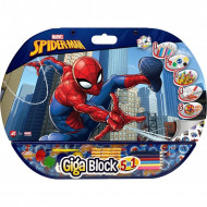 Set creativ Spiderman Giga Block 5 in 1
