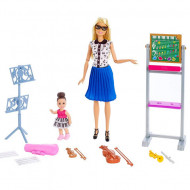 Set de joaca Barbie profesoara de muzica Barbie You Can Be Anything
