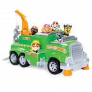 Set de joaca Rocky's Team Recycling Truck Patrula Catelusilor Total Team Rescues