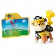 Set de joaca Rubble cu card animat Mission Paw Patrula Catelusilor