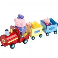 Set de joaca Trenul Bunicului Peppa Purcelusa Peppa
