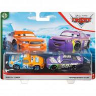 Set de masinute metalice Speedy Comet si Parker Brakeston Cars 3