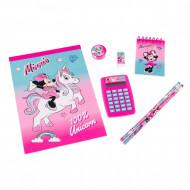 Set de papetarie Minnie Mouse 8 piese