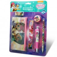 Set de papetarie Shimmer and Shine 6 bucati