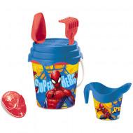 Set jucarii pentru nisip Spiderman 6 piese Mondo Toys