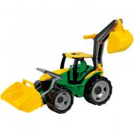 Tractor excavator verde Lena 65 cm