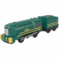 Trenulet Shane Locomotiva Motorizata cu Vagon Thomas&Friends Track Master