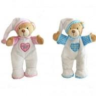 Ursulet de plus in pijama Keel Toys 15 cm