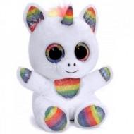 Unicorn de plus curcubeu Animotsu Ochi Mari 15 cm