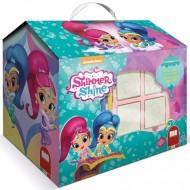 Set creativ de stampile in cutie Shimmer si Shine