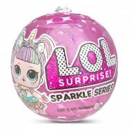 Set papusa LOL Surprise Sparkle Series si 6 accesorii