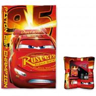 Patura Fulger McQueen Cars 3 150x100 cm