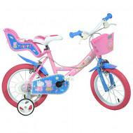 "Bicicleta copii Purcelusa Peppa 14"""