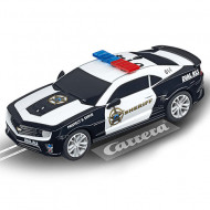 Circuit electric masinute Chevrolet Camaro si Mercedes AMG GT Police Chase Carrera Go Plus 10,4 m