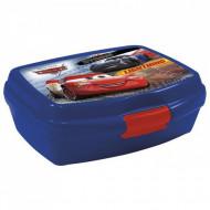 Cutie pentru sandwich Fulger McQueen si Jackson Storm Cars albastru
