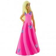 Figurina Barbie in rochita roz Barbie Dreamtropia