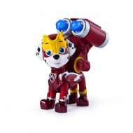 Figurina mecanica Marshall Mighty Pups Super Paws Patrula Catelusilor