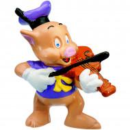 Figurina Purcelus Violonist Cei Trei Purcelusi Bullyland