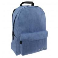 Ghiozdan ergonomic Must Jean albastru 42 cm