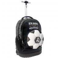 Ghiozdan troler ergonomic 3D Real Madrid 47 cm