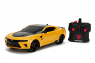 Masinuta cu telecomanda Bumblebee Chevrolet Camaro Transformers Hollywood Rides 1:16