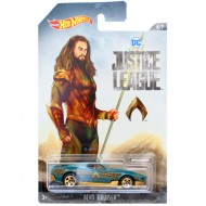 Masinuta metalica Aquaman BLVD Bruiser Liga Dreptatii Hot Wheels