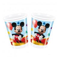 Pahare de plastic pentru petrecere Clubul lui Mickey Mouse