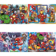 Puzzle 4 in 1 Avengers Clementoni 160 piese