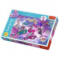 Puzzle Barbie Star Light Adventure 100 piese
