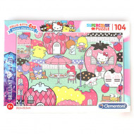 Puzzle Brilliant Hello Kitty Clementoni 104 piese