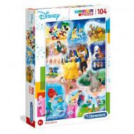 Puzzle Disney Dance Time Clementoni 104 piese