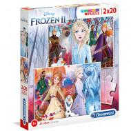 Puzzle Frozen 2 Clementoni 2x20 piese
