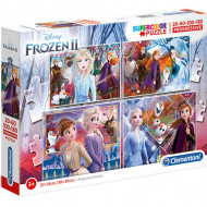Puzzle Frozen 4 in 1 Clementoni 360 piese