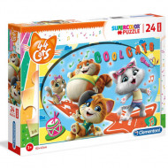 Puzzle Maxi Coolcats 44 Cats Clementoni 24 piese