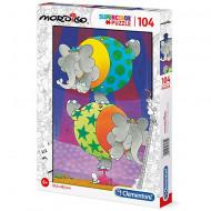 Puzzle Mordillo Echilibru Clementoni 104 piese