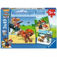 Puzzle Patrula Catelusilor 3x49 Ravensburger