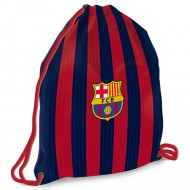 Sac de umar cu snur FC Barcelona albastru-rosu