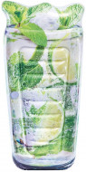 Saltea gonflabila Sparkling Lime Soda Intex